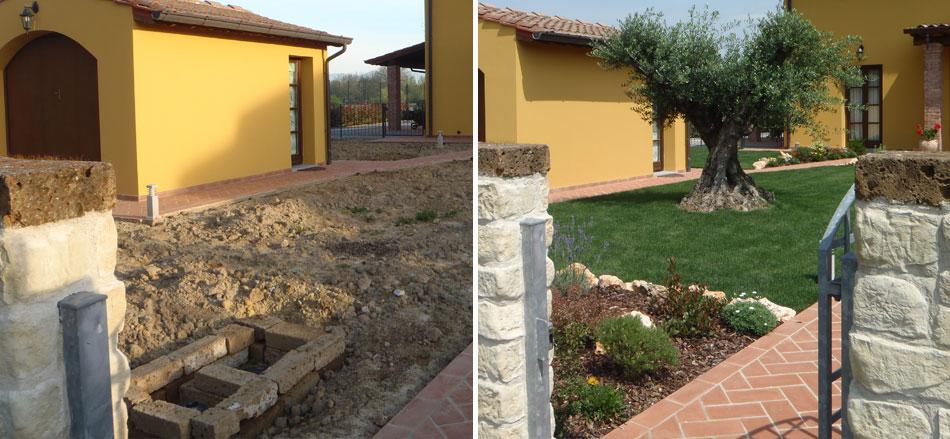 Aiuole funzionali baldecchi giardini for Giardini con aiuole